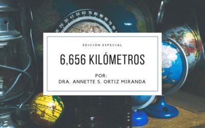 6,656 kilómetros
