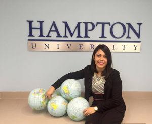 Coach de liderazgo para universitarios Hampton University en Virginia con Bianca Negrón